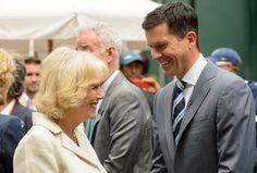 La Duquesa de Cornualles admite sentirse 'demasiado mayor' para jugar al tenis