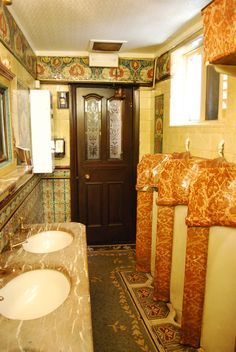 The gents toilet in the Philharmonic Pub Liverpool one of the best ornate pubs in Great Britain.