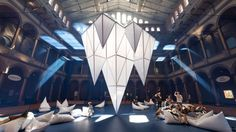 Interactive 'Icebergs' exhibit is up in D.C.'s National Building Museum