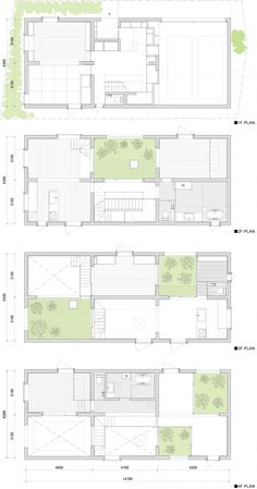 House K/ Japan/ Floor Plan Japan Architecture, Architecture Panel, Architecture Portfolio, Architecture Design, Drawing Architecture, The Plan, How To Plan, Modern Floor Plans, House Floor Plans