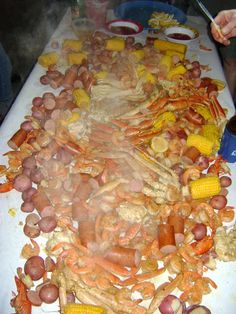 My Purple Kitchen: Lowcountry Seafood Boil