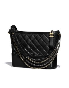 Chanel - SS2018 | Black Chanel's Gabrielle Hobo bag