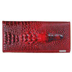 ASDS Women Wallet Female 2016 Coin Purses Holders Genuine Leather 3D Embossing Alligator Ladies Crocodile Long Clutch Wallets