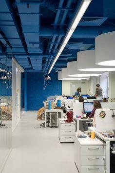 Gallery of OPTIMEDIA Media Agency Office / Nefa Architects - 10 ...