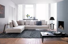SPRING CORNER LOUNGE - RIGHT FACING CHAISE