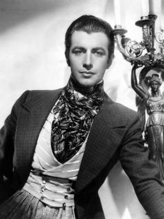 """Robert Taylor playing Armand Duval in """"Camille"""". """"I'll beg, I'll borrow, I'll steal! But I must be with you always, always!"""". Brilliant actor."""