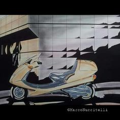 #Design for maxi scooter 1995 www.marconuccitellidesign.com #sketch #design #motorcycles