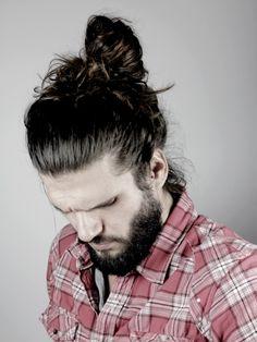 beard and man bun = heaven