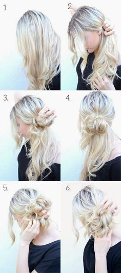 Extremely Simple 30 Second Hair Make Up - 3 Items... Try from where you are now!!