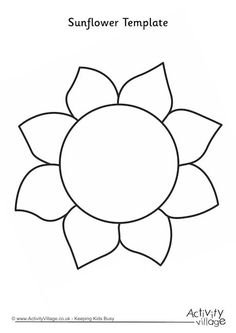 Flower Petal Template Pattern  Google Search  Paper Flowers