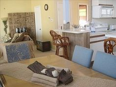 3 BR; 3 BA; 2 min. WALK TO BEACH; OCEAN VIEWS from BALCONY; INTERNET! Galveston $1706.50 in 2013.....ideas for 2014