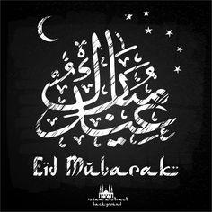 Arabic Design Eid Mubarak Background Vector  http://www.cgvector.com/50-vector-graphics-eid-greeting-card-and-wallpaper/