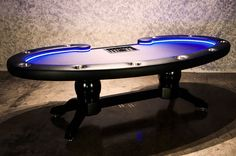 The Lumen HD Poker Table 3 - this will light up any poker room, game room or man cave.