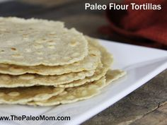 I have always loved just about anything wrapped in a flour tortilla: burritos, soft tacos, fajitas, chicken Caesar salad wraps, etc. One of my kids' earliest finger foods were flour tortillas and cheese (yes, in my pre-paleo days before I knew any better). They are something that I've missed since finding Paleo (not that I …Read More