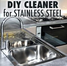 How To Clean Stainless Steel Appliances with Vinegar