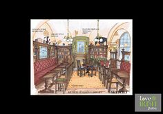 Custom Design & Build of Authentic Irish Pubs. Manufactured by Irish Craftsmen & Delivered to You. Pub Design, Building Design, Barrel, Irish, Custom Design, Sketches, Painting, Image, Drawings