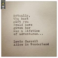 a lifetime of adventure!