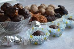 Фото конфет из сухофруктов