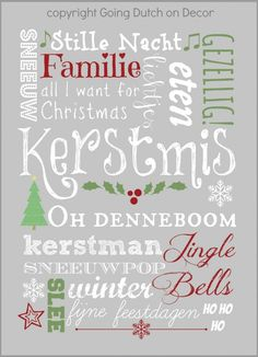 gemaakt door Going Dutch on Decor Happy Christmas Day, All I Want For Christmas, Christmas Travel, Christmas Quotes, A Christmas Story, Christmas Wishes, Family Christmas, Christmas And New Year, Christmas Holidays