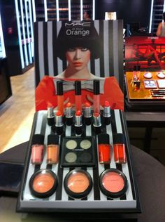 MAC orange collection. Picked up the blushes and one lipstick.