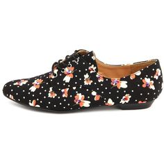Ditsy Floral Canvas Oxford ($29) ❤ liked on Polyvore