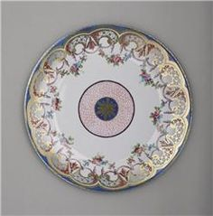 Antq 22K GLD Haviland Limoges 5 Well Oyster /& Sauce Rococo Scalloped Edge Plate