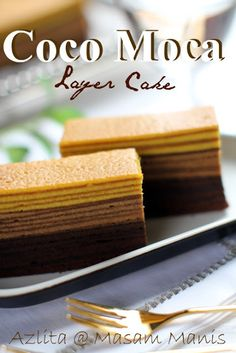 masam manis: COCO MOCA LAYER CAKE
