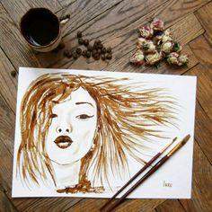Воздушный кофейный поцелуй ☕💋😉