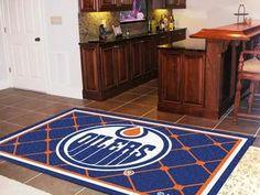 Edmonton Oilers 5x8 Rug