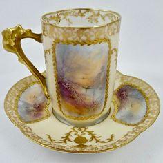 Tea Cup Set, Tea Cup Saucer, Tea Sets, Vintage Cups, Vintage Dishes, Tea Rose Garden, Roses Garden, Romantic Cottage, Romantic Homes
