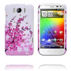 Valentine (Rosa Blomstrende Kvist) HTC Sensation XL Deksel