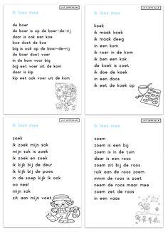 Juf Joycella | Veilig Leren Lezen Speech Language Therapy, Speech And Language, Learn Dutch, Starting School, Creative Teaching, Primary School, Kids Education, Reading Comprehension, Kids Learning