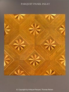 Parquet Flooring. Hardwood Floor Border & Medallion Inlays.: Austria. The…