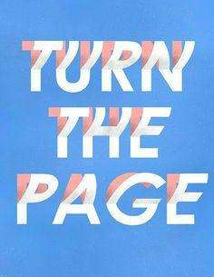 Da vuelta a la página y sigue adelante