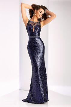 2017 de la cucharada de la sirena de las lentejuelas con listones de barrido tren vestidos de baile US$ 199.99 VEPRY9BK96 - 2016Vestido.com for mobile