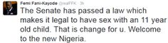 Welcome To Chitoo's Diary.: WOW ! Femi fani kayode reacts to the new bill that...