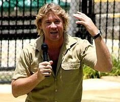 The late Steve Irwin. Insatiable, inspiring, infectious enthusiasm for wildlife and conservation.