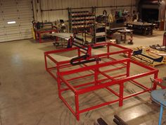 4x4, 4x8, and 5x10 CNC Plasma and Router Tables in various stages of production and testing. burntables.com