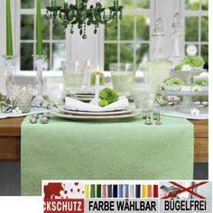 Bügelfrei und mit wirksamem Fleckschutz: SECRET von Sander ist die ideale Tischdecke für das nächste Fest - oder einfach für jeden Tag.