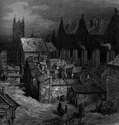 Gustave Dore, Images from London