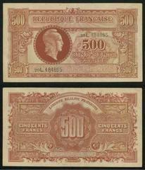500 Francs Banknote