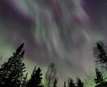 Northern Lights video from Minnesota on April 24th
