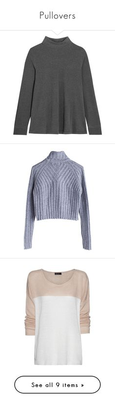Pullovers by arbatik on Polyvore featuring polyvore, women's fashion, clothing, tops, sweaters, dark gray, polo neck top, turtle neck sweater, turtle neck top, stretch jersey, loose turtleneck sweater, jumpers, gray turtleneck, wool jumpers, gray turtleneck sweater, grey jumper, shirts, t-shirts, relaxed fit tops, relaxed fit shirt, linen shirts, relax shirt, shirt tops, women, elizabeth and james sweater, pink jumper, roll up shirt, zipper sweater, roll-neck sweaters, pink, turtleneck…
