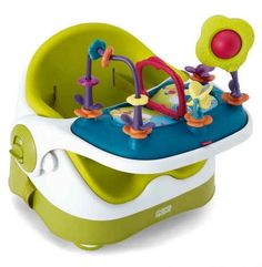 This booster seat and activity tray grows with your baby from four months to three years. | 31 Ingenious Products That Will Make Parenting So Much Easier