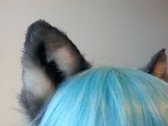 wolf ears by woodlandcreatureshop on Etsy Wolf Ears, Metal Headbands, Wire Frame, Kitty, Costume, Little Kitty, Kitty Cats, Costumes, Kitten