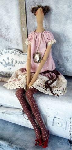 Tilda bonecas artesanais. Mestres justo - Handmade boneca princesa til. Handmade.