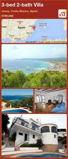 3-bed 2-bath Villa in Javea, Costa Blanca, Spain ►€790,000 #PropertyForSaleInSpain