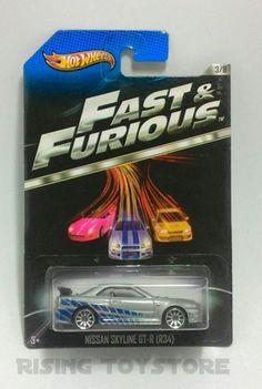 Hotwheels Nissan Skyline GT-R (R34) Fast&Furious