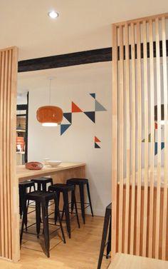 Rénovation et décoration d'un restaurant