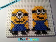 Minions hama beads by PixFreak